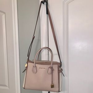 Michael Kors, Mercer, Large Tri-Color Satchel